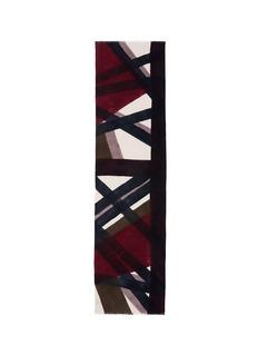 Franco Ferrarix Laboratorio Luparia 'Monferrato' print cashmere scarf