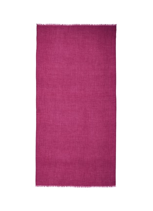 Main View - Click To Enlarge - Franco Ferrari - 'Notevole' cashmere scarf