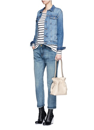 Figure View - Click To Enlarge - Current/Elliott - 'The Boyfriend' straight leg cropped jeans