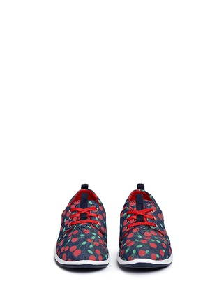 Figure View - Click To Enlarge -  - Youth Del Rey cherry print denim kid sneakers