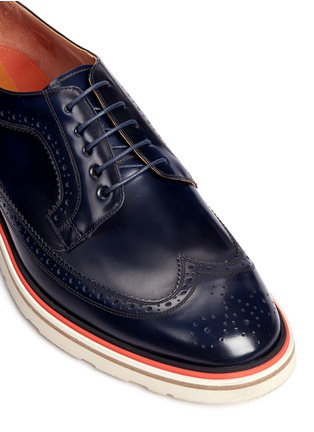 Detail View - Click To Enlarge - Paul Smith - 'Grand' smooth leather Derbies