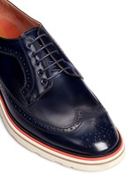 'Grand' smooth leather Derbies