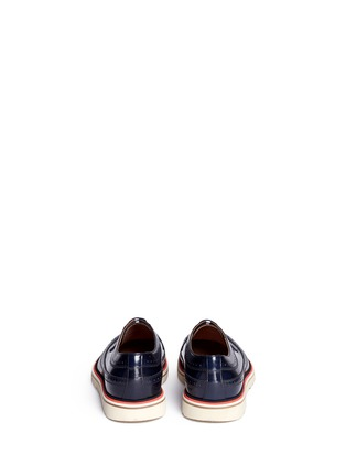 Back View - Click To Enlarge - Paul Smith - 'Grand' smooth leather Derbies