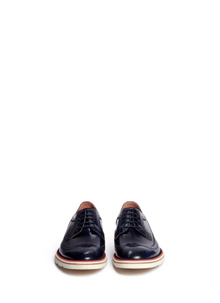 Front View - Click To Enlarge - Paul Smith - 'Grand' smooth leather Derbies