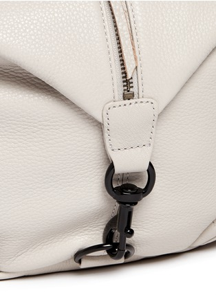 Detail View - Click To Enlarge - Rebecca Minkoff - 'Julian' pebbled leather backpack