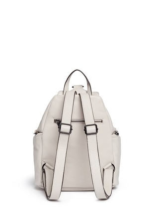 Back View - Click To Enlarge - Rebecca Minkoff - 'Julian' pebbled leather backpack