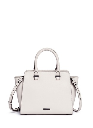Back View - Click To Enlarge - Rebecca Minkoff - 'Avery' mini saffiano leather tote bag