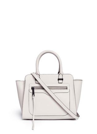 Main View - Click To Enlarge - Rebecca Minkoff - 'Avery' mini saffiano leather tote bag