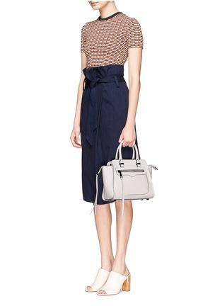 Figure View - Click To Enlarge - Rebecca Minkoff - 'Avery' mini saffiano leather tote bag