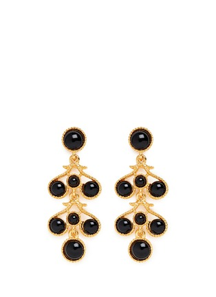 Main View - Click To Enlarge - Kenneth Jay Lane - Bead chandelier drop earrings