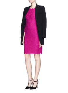 DIANE VON FURSTENBERG 'Zarita' floral lace sheath dress