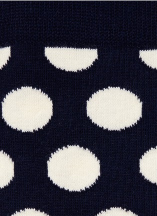 Detail View - Click To Enlarge - Happy Socks - Big dot socks