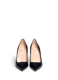 VALENTINOPoint-toe leather pumps