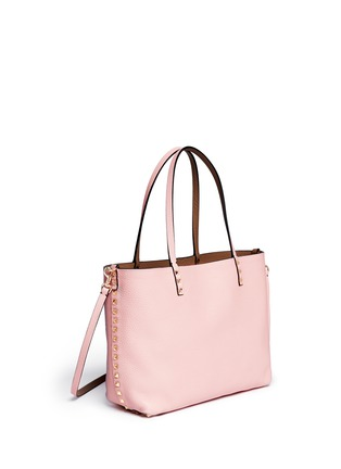 Detail View - Click To Enlarge - Valentino - 'Rockstud' small reversible leather tote