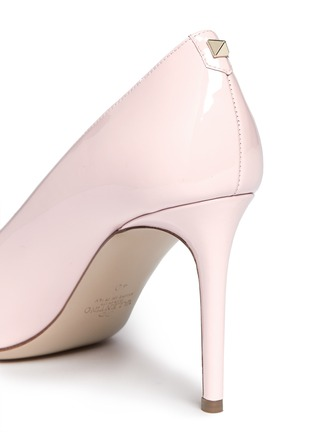 Detail View - Click To Enlarge - Valentino - Point-toe patent leather pumps