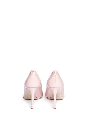 Back View - Click To Enlarge - Valentino - Point-toe patent leather pumps