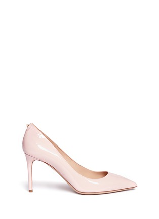 Main View - Click To Enlarge - Valentino - Point-toe patent leather pumps