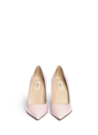 Figure View - Click To Enlarge - Valentino - Point-toe patent leather pumps