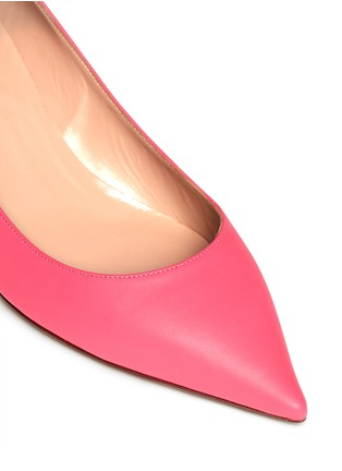 VALENTINO - Point-toe leather pumps