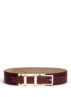 VALENTINORockstud buckle leather belt