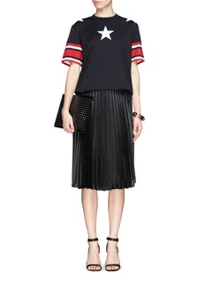 GIVENCHY Star and stripe print T-shirt
