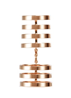 REPOSSI 'Berbère' multi-band link ring