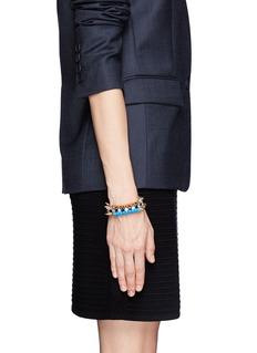 VENNACrystal spike bracelet