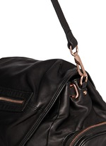 Marti' washed leather backpack