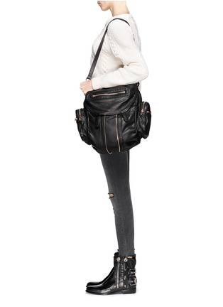 - Alexander Wang  - Marti' washed leather backpack
