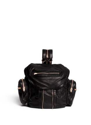 Main View - Click To Enlarge - Alexander Wang  - Marti' washed leather backpack