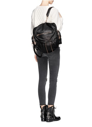 Figure View - Click To Enlarge - Alexander Wang  - Marti' washed leather backpack