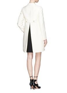 VALENTINOInverted pleat back swing coat
