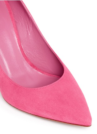 Detail View - Click To Enlarge - Fabio Rusconi - 'Nataly' suede pumps