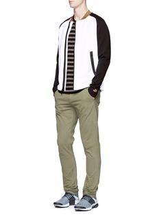 Nike'Tech Fleece' asymmetric front jacket