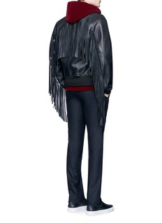 Givenchy Fringed leather jacket