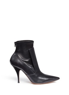 Givenchy'Kali' high vamp leather boots