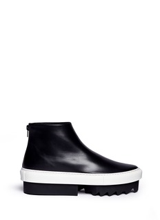 Givenchy 'Platform Mid Skate' leather boots