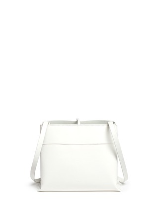 Back View - Click To Enlarge - Kara - 'Tie Crossbody' leather bag