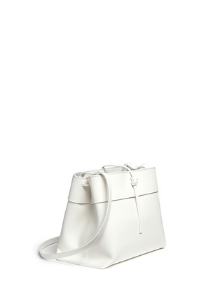 Front View - Click To Enlarge - Kara - 'Tie Crossbody' leather bag