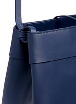 'Tie Crossbody' leather bag