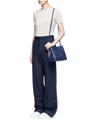 Figure View - Click To Enlarge - Kara - 'Tie Crossbody' leather bag