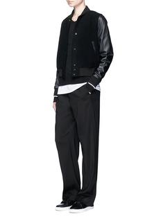 VinceRaglan sleeve cashmere sweater