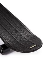 'Del Mar' water snake leather skateboard