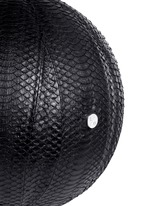 'Springfield' water snake leather basketball