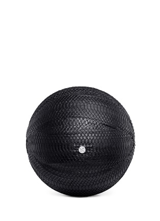 Elisabeth Weinstock - 'Springfield' water snake leather basketball
