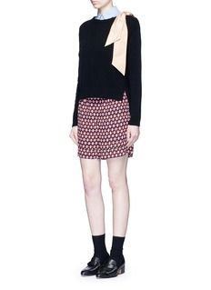 Marc JacobsVintage diamond print silk shorts