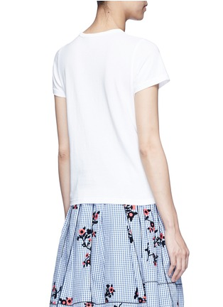 Back View - Click To Enlarge - Marc Jacobs - Bow appliqué T-shirt