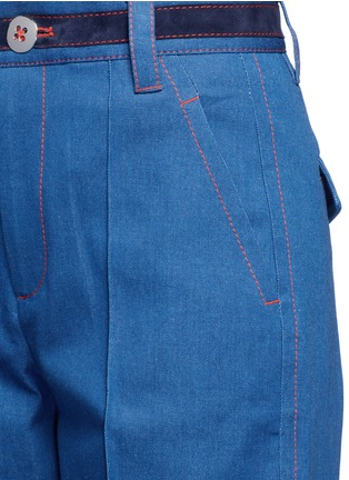 Detail View - Click To Enlarge - Marc Jacobs - Wide leg denim pants