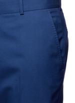 Wool hopsack pants