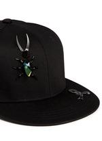Embellished bug baseball cap